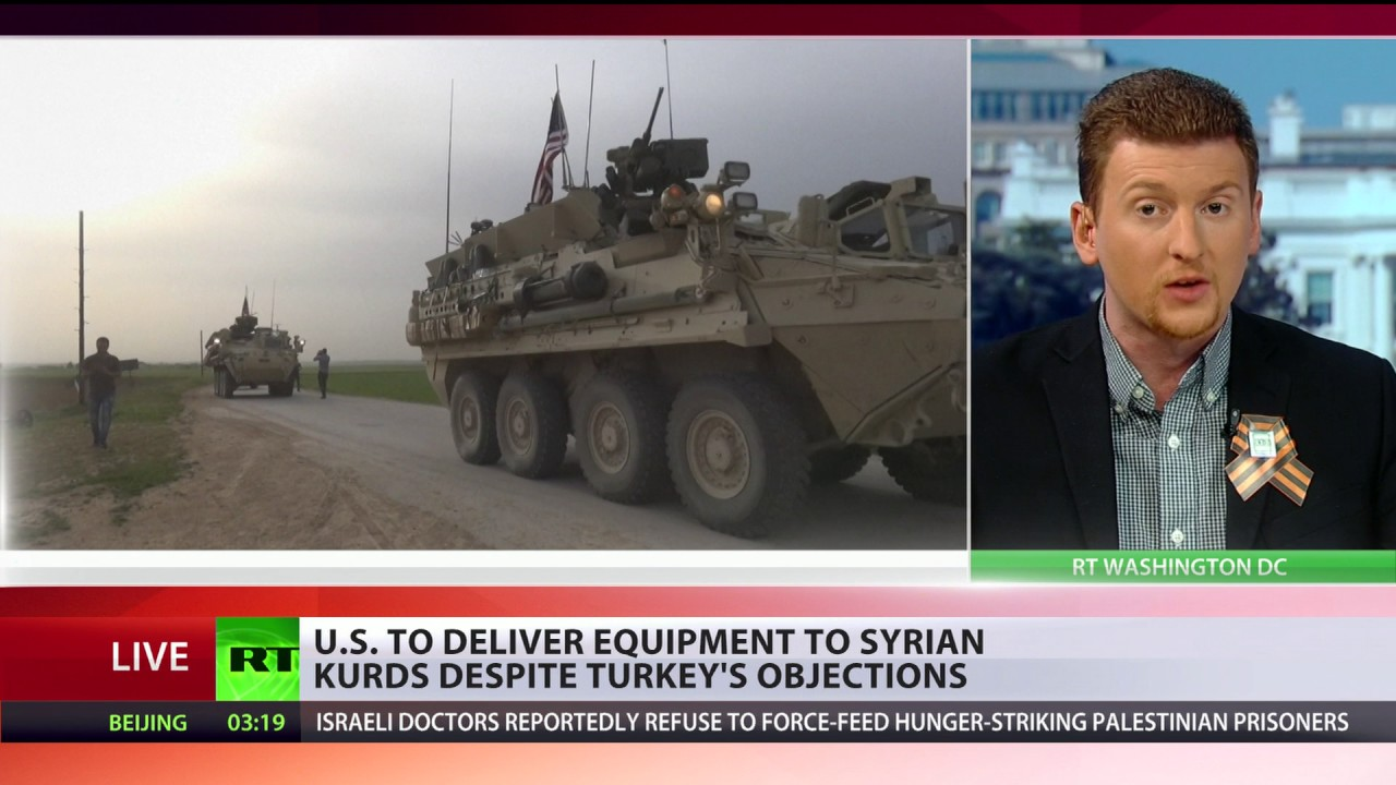 Image result for Washington's support to Syria's Kurds