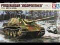 part 0ne Building the New Tamiya 1/16 scale Panzerjager Jagdpanther Display model