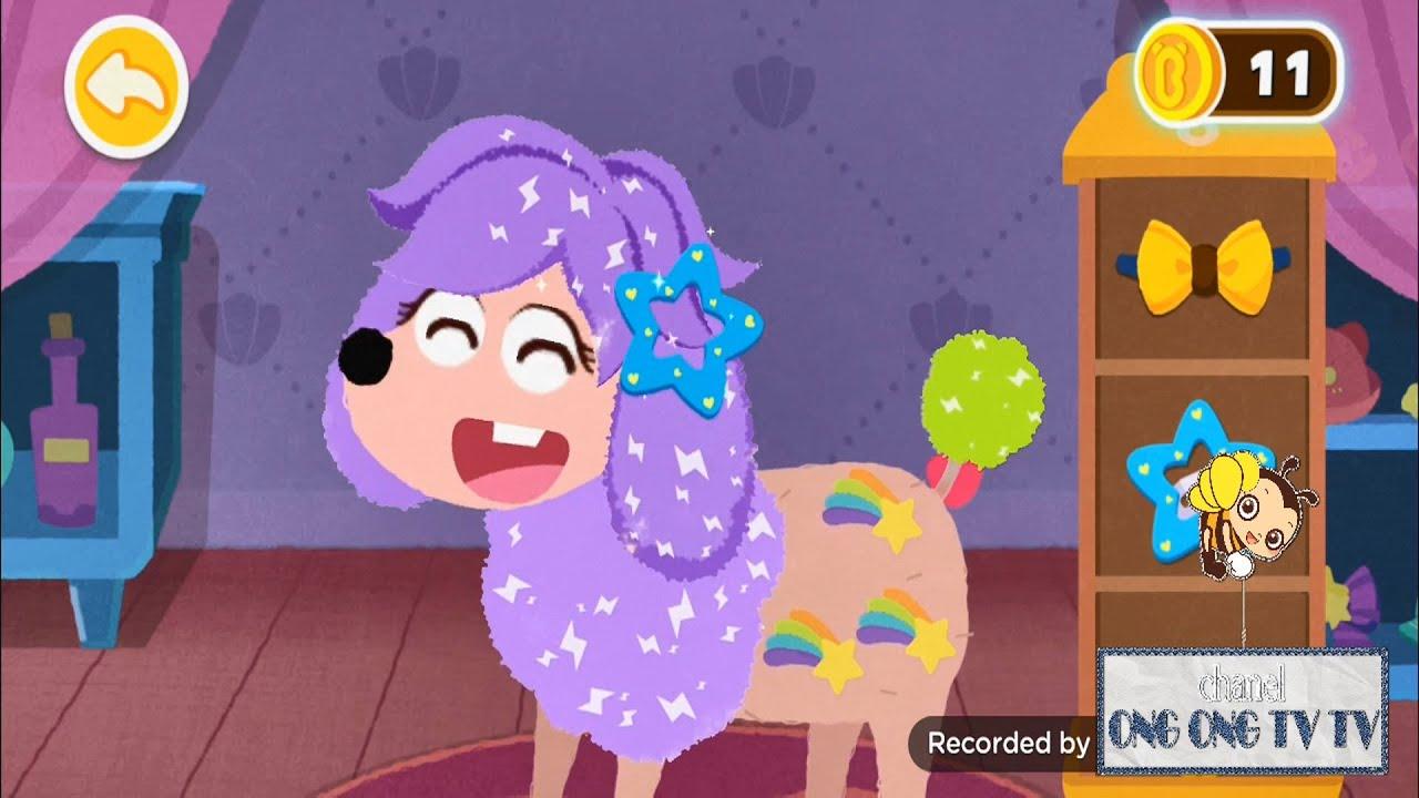 Thẩm mỹ viện thú cưng của gấu trúc nhỏ, game babybus vui nhộn