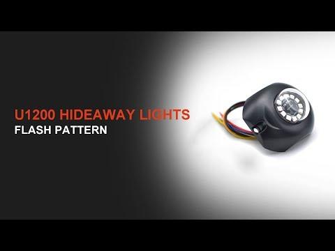 U1200 Hideaway LED Strobe Light Flash Pattern