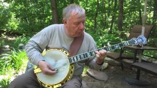 Bar - F - D Learning the Chords on the 5-string Banjo