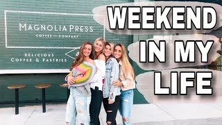 WEEKEND IN MY LIFE | Magnolia Press + being tourists in Waco!!!