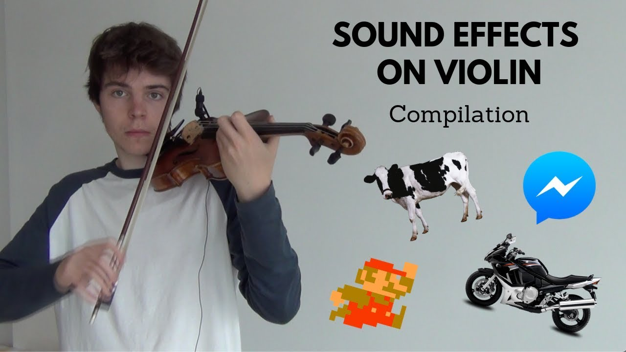 sound effects on violin compilation youtube