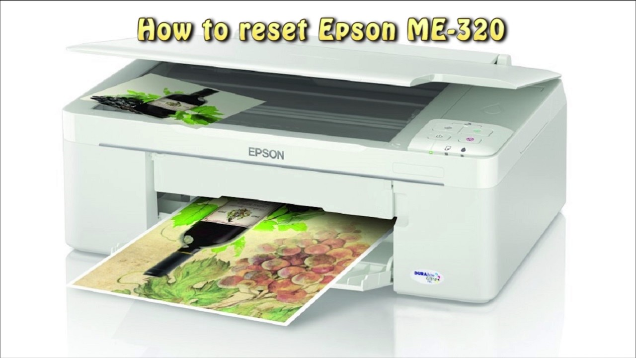EPSON PRINTER ME320 WINDOWS XP DRIVER