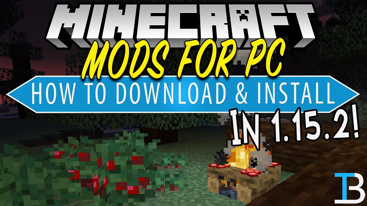 How To Download Install Mods In Minecraft 1 15 2 Pc Youtube