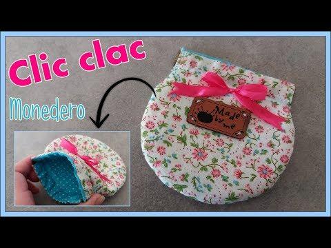 DIY MONEDERO CLIC CLAC | With English subtitles | Yuyi's Creations