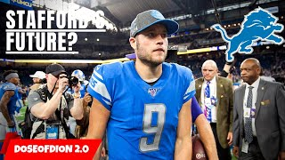 Will Matthew Stafford Get TRADED?! Or Smoke Screen? Detroit Lions Talk