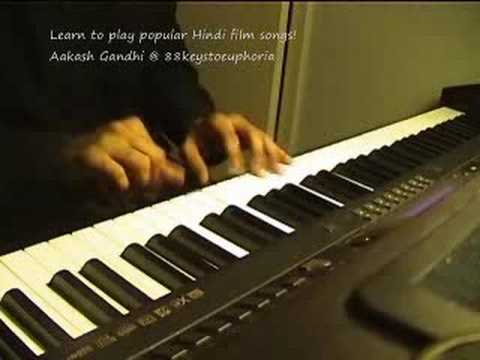 Yeh Tumhari Meri Baatein (Rock On) on Piano by Aakash Gandhi