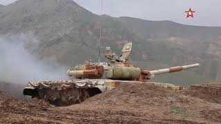Российские военные уничтожили «врага» в Таджикистане