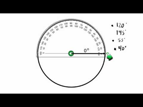 Construct Angles On A Circle Graph 47 Youtube