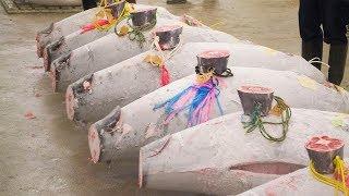 Рыбный рынок в Японии. Что скрывают от туристов?!