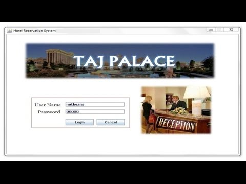 Hotel Management System - CBSE ip Project for Class 12 (Java Netbeans and  MySql)