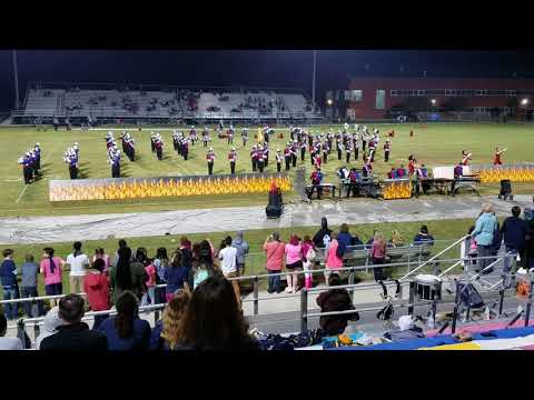 Ocean Lakes High School Marching Band Homecoming night 2017-2018