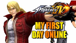 MY FIRST DAY ONLINE: Ranked - King Of Fighters 14 w/Maximilian