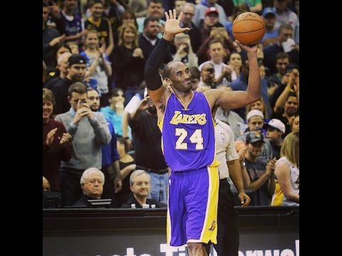 #NBA #BlackMamba Kobe Bryant Passes Michael Jordan on All-Time Scoring List!