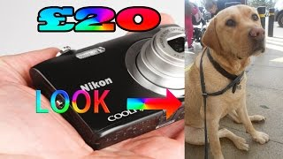 HOW DOES A£20 CAMERA STACK UP 2017 (NIKON coolpix s2600)