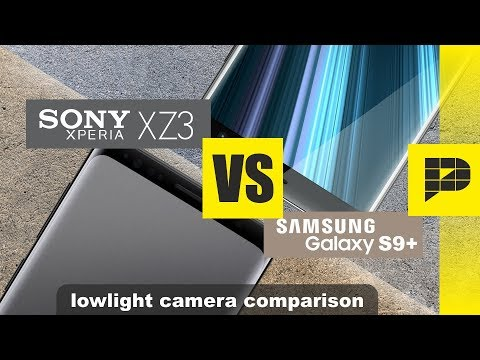Sony Xperia XZ3 VS Samsung Galaxy S9+ - Lowlight camera