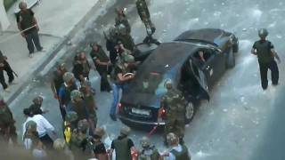 syrian revolution brutal attack on civlians in barza suburb damascus june 24 2011 24 06
