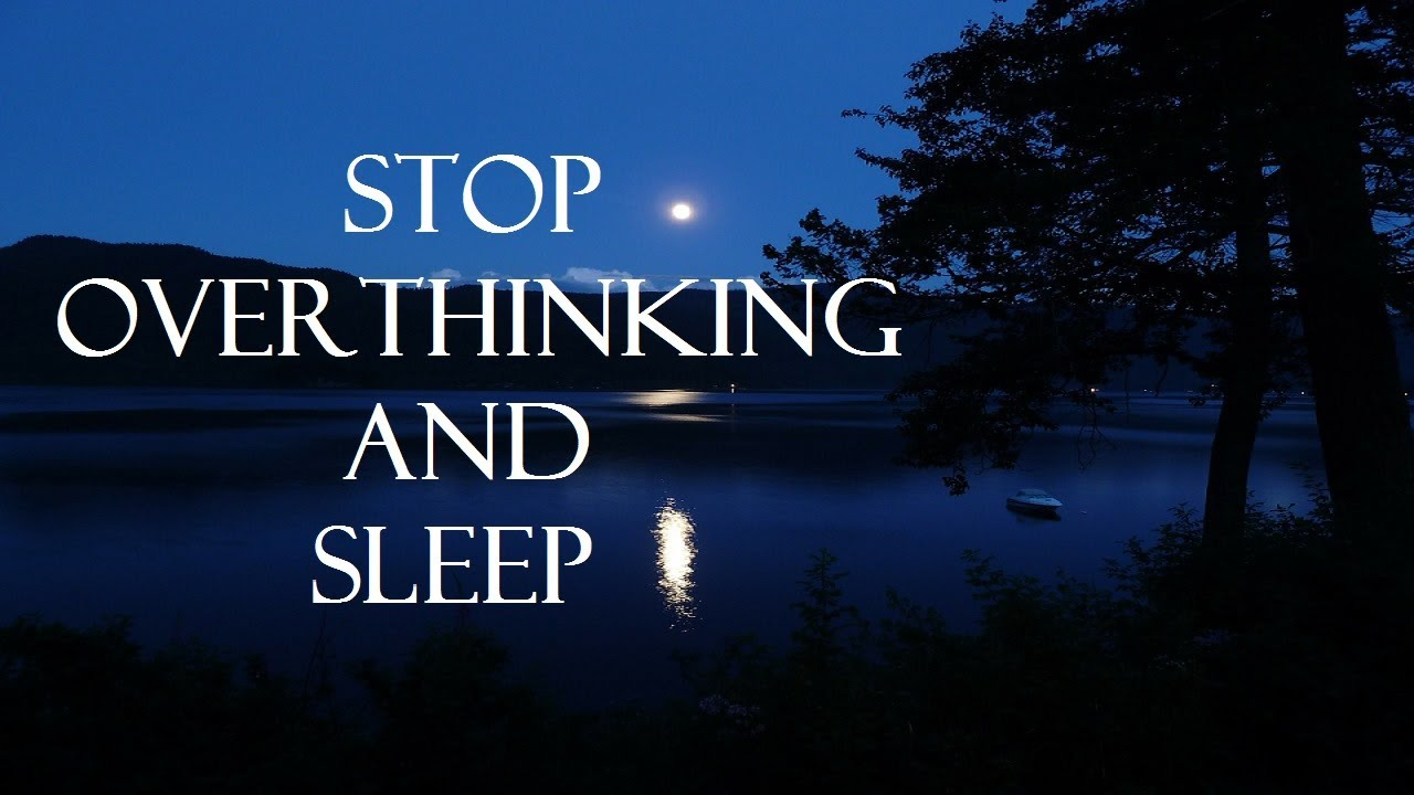 Guided meditation for overthinking and deep sleep - YouTube