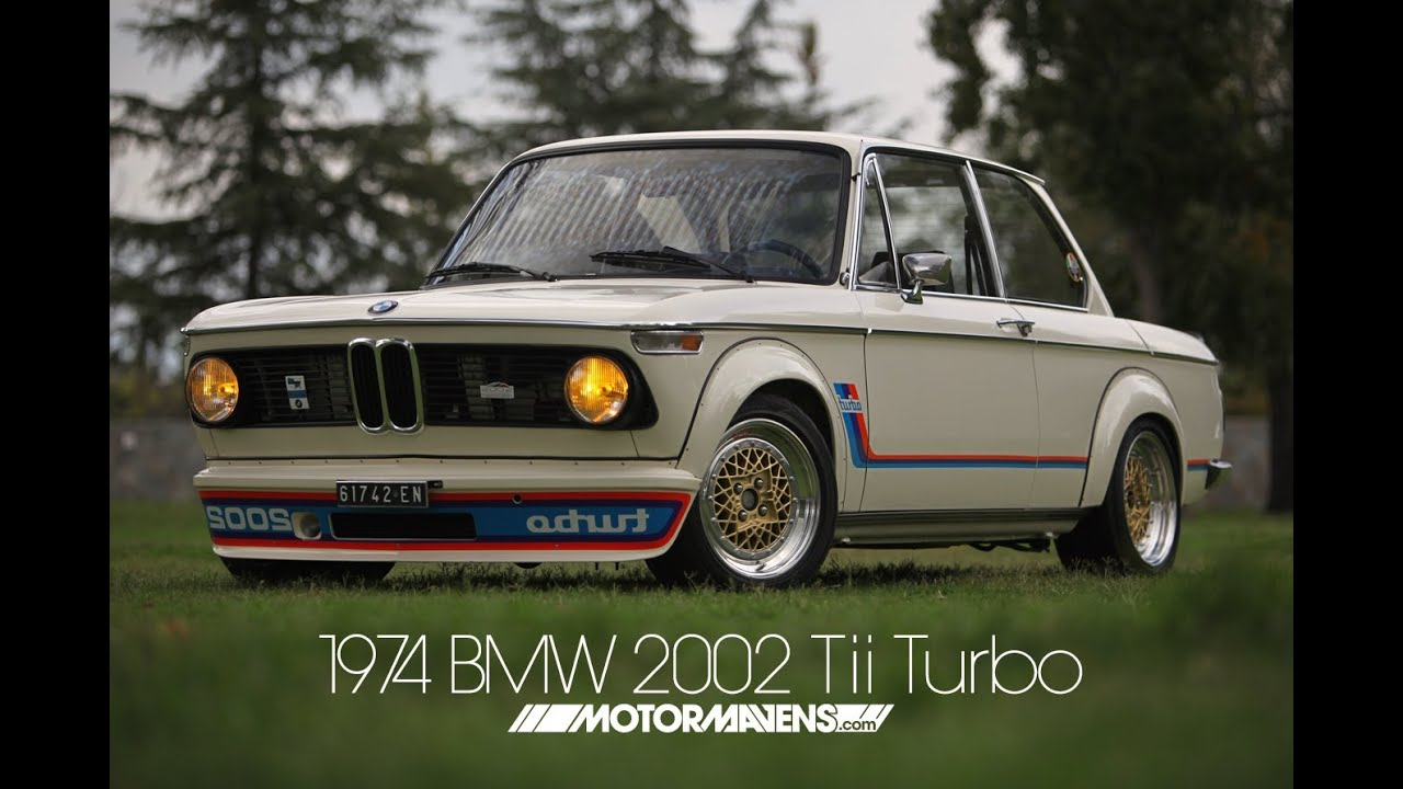 rare 1974 bmw 2002 tii turbo with bbs wheels at classic bmw event youtube. Black Bedroom Furniture Sets. Home Design Ideas