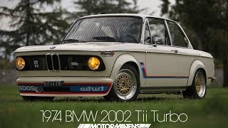 RARE 1974 BMW 2002 Tii Turbo with BBS wheels at Classic BMW Event