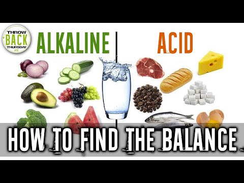 Does Eating Alkaline Foods vs Acidic Foods Affect Your Health? #TBT | LiveLeanTV