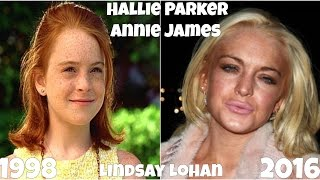The parent trap Actors Before and After 2016, Antes y Después