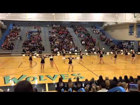 "Nov21st 2015 Grace Sandman Mountain Ridge High School Varsity Pom ""1st Place Competition Finish"""
