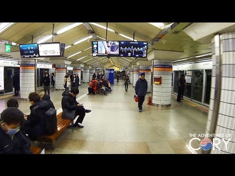 Walking Through Jongno 3-ga Station - 🇰🇷 SEOUL WALK
