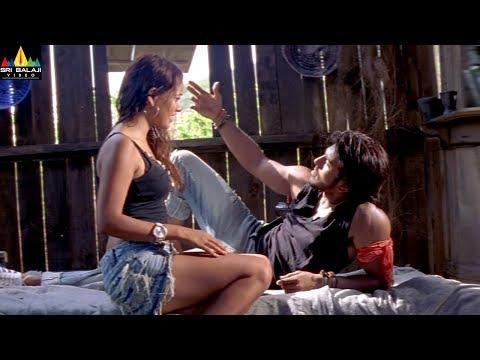 Chirutha Movie Ram Charan And Neha Sharma Scene | Telugu Movie Scenes | Sri Balaji Video