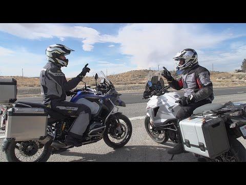 BMW R1200GS Adventure vs. KTM 1290 Super Adventure   ON TWO WHEELS