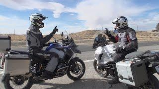bmw r1200gs adventure vs ktm 1290 super adventure   on two wheels