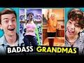 Teens React To Badass Grandmas (Bodybuilding, Water Skiing & More!)
