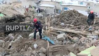 Turkey: Dog helps rescue teams after 5.7-magnitude quake kills 9 near Iran border