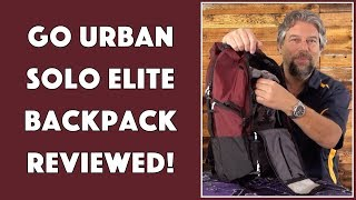 The Urban Ready Solo Elite Backpack -- Reviewed!