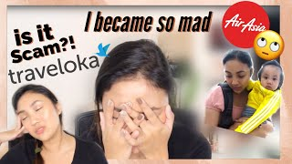 STRANDED AT THE AIRPORT + SCAMMED BY TRAVELOKA! | Via Silverio screenshot 4