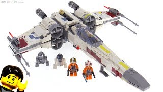 LEGO Star Wars X-Wing (original trilogy) Starfighter review! 75218