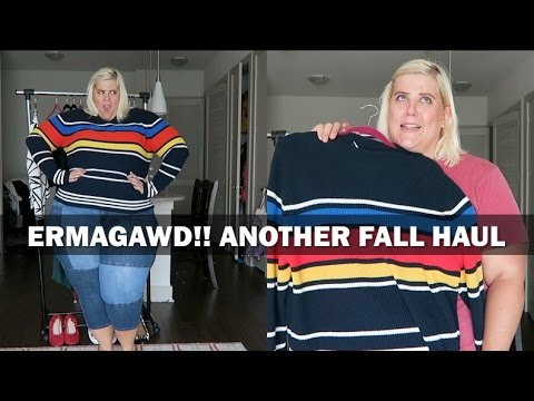 It's Another Plus Size Fall Fashion Collective Haul