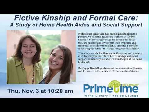 Fictive Kinship and Formal Care: A Study of Home Health Aides and Social Suppor