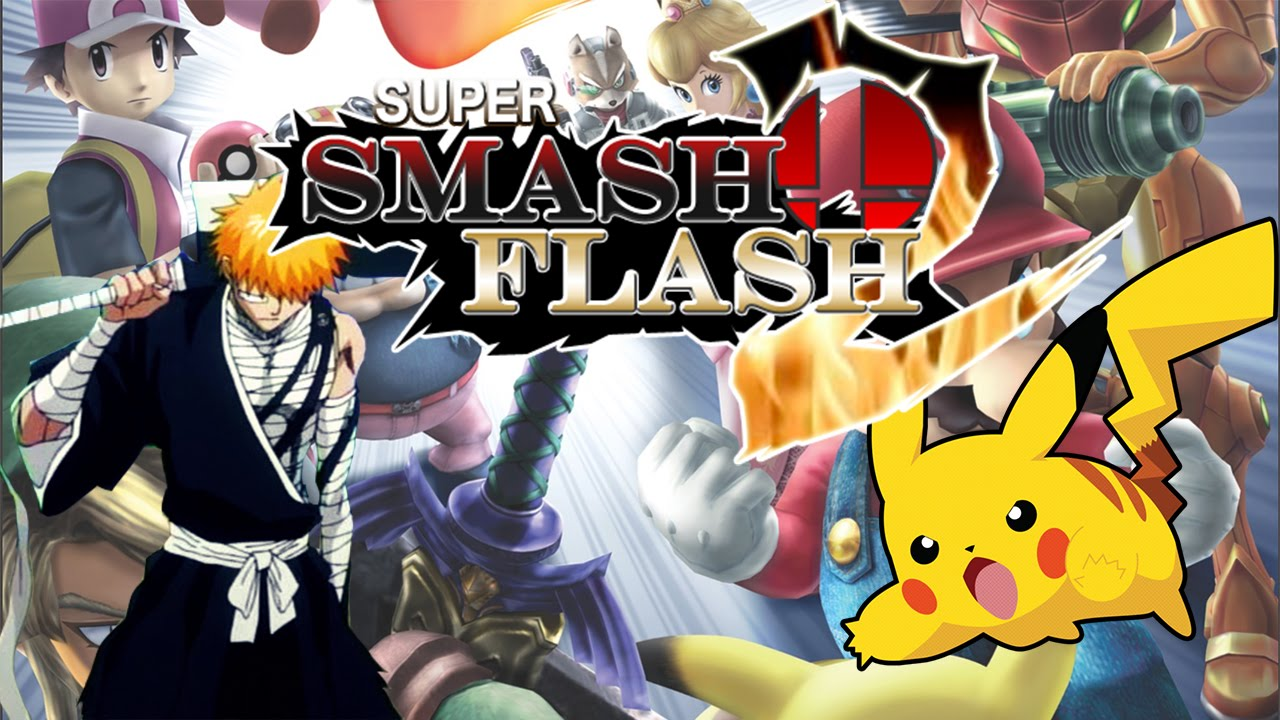 how to make a super smash bros in adobe flash