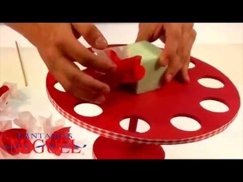 Cómo hacer un divertido dulcero para despedida de soltera - YouTube