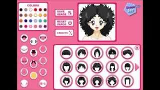 Игра Создай аниме аватар