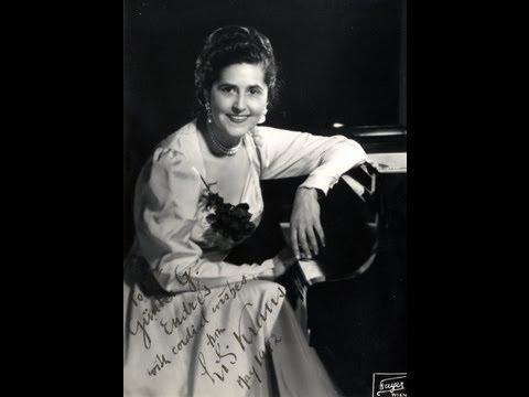 Lili Kraus plays Schubert Valses Sentimentales opus 50 (selection)