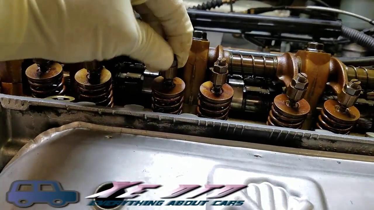 """[ Xe oto] Cách chỉnh xu páp xả và hút loại """"cò mổ"""" Xe Honda,Accura..#110.."""
