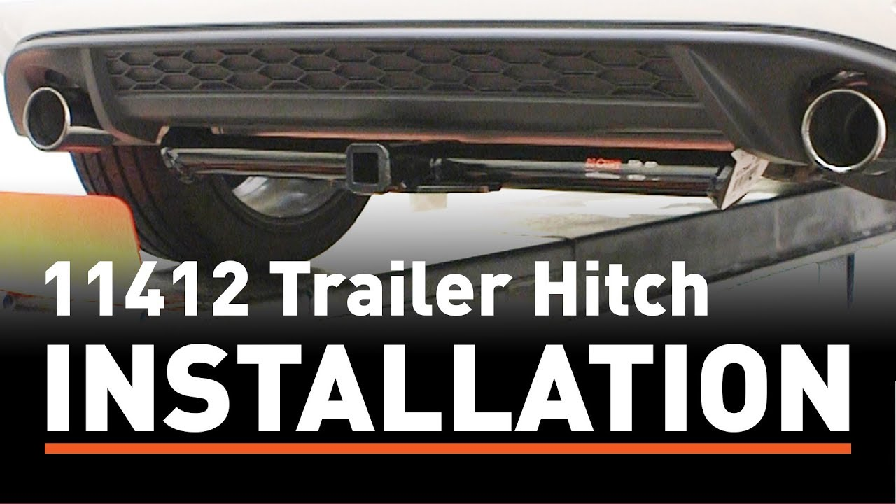 Tow Hitch Installation Near Me >> Trailer Hitch Install Curt 11412 On A Volkswagen Gti Youtube