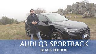 Prueba Audi Q3 Sportback 45 TFSI: Todo al negro | Car and Driver España