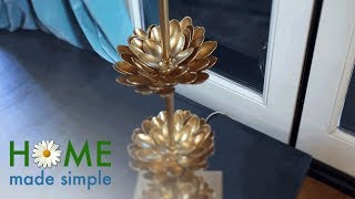 Give Your Modern Lamp a Vintage Twist | Home Made Simple | Oprah Winfrey Network
