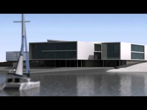 Sailing Club in Greece_3d animation