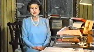 The Queen's Christmas Message 1985
