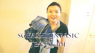 Jeans 101 Fashion: 5 Basic Type of Jeans and Style Lookbook